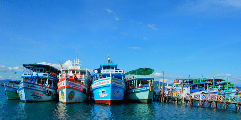 Take one of the many snorkelling and dive trips available on Ko Chang