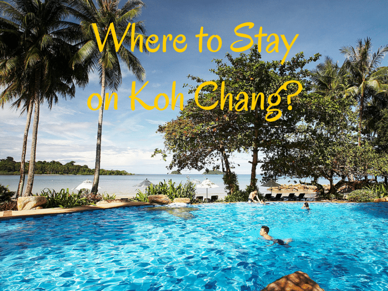 Recommended resorts, hotels and guesthouses on Koh Chang