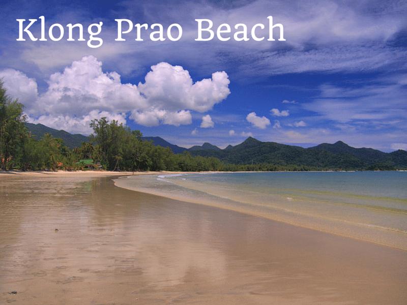 Guide to Klong Prao beach, Koh Chang