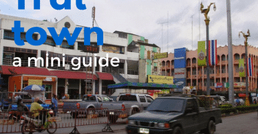 Trat town guide for visitors. How to get there and where to stay.