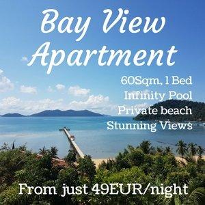 Stunnig views from Bayview Apartment, Bangbao.