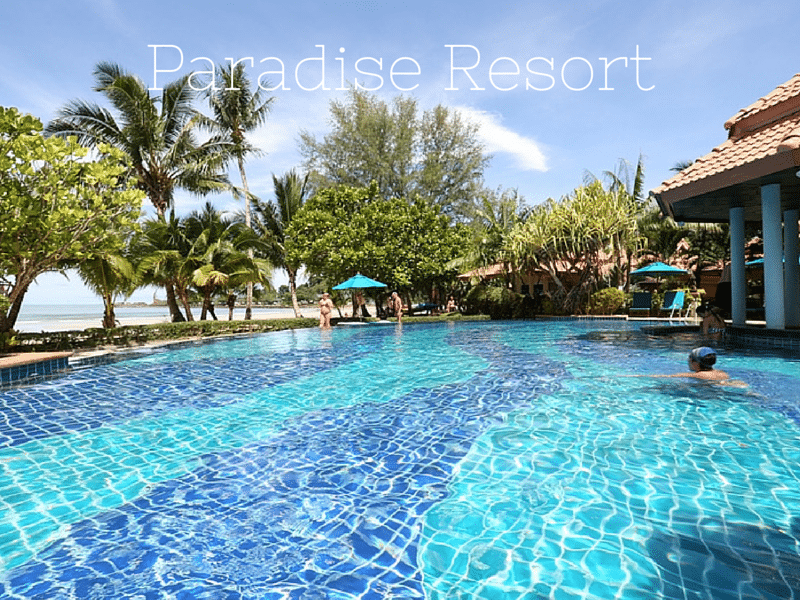 Paradise Resort - one of Klong Prao beach's best hotels