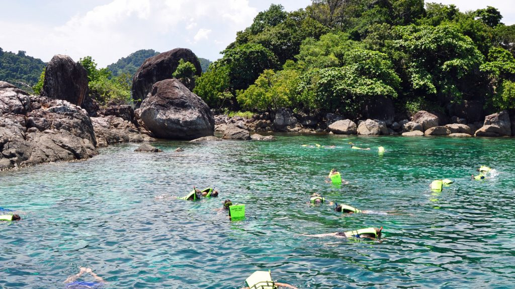 Snorkelling trips near Koh Chang