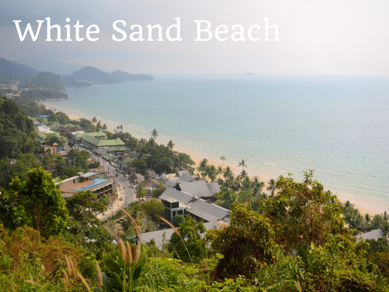 A guide to White Sand beach, Koh Chang